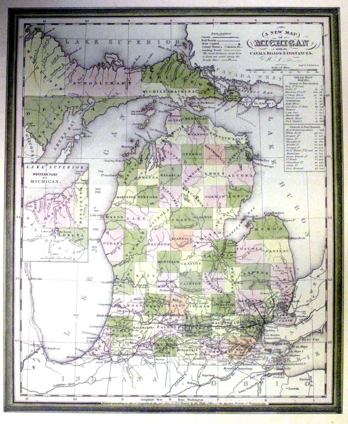 Road Maps Of Michigan Map.Maps Of Macomb County Michigan And Locals And Locations
